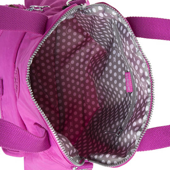 Pahneiro Handbag,Pink Orchid,large