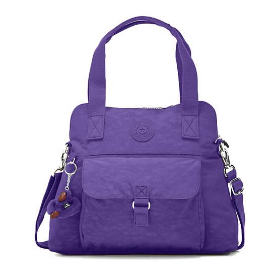 Pahneiro Handbag,Inlet Purple,large