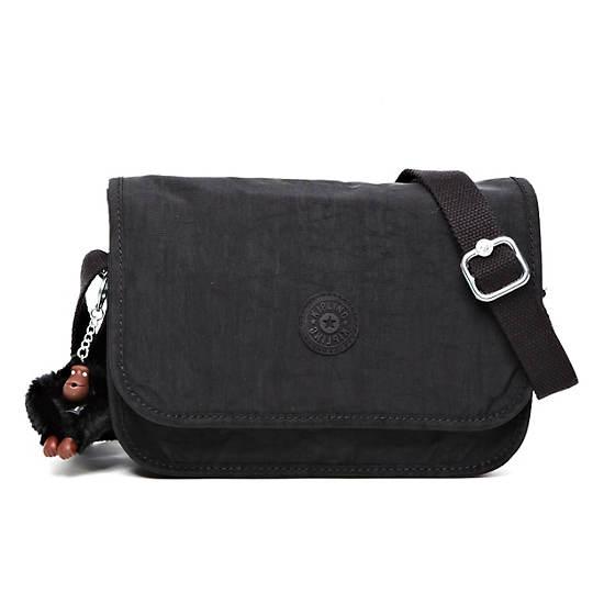 Louiza Crossbody Bag,Black,large