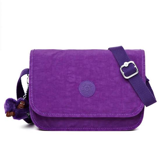 Louiza Crossbody Bag,Tile Purple,large