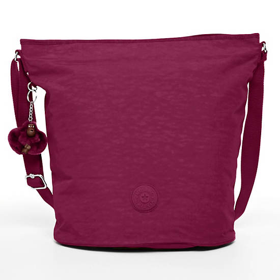 Mimmie Tote,Deep Red,large