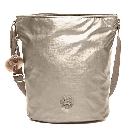 Mimmie Tote,Silver Beige,large