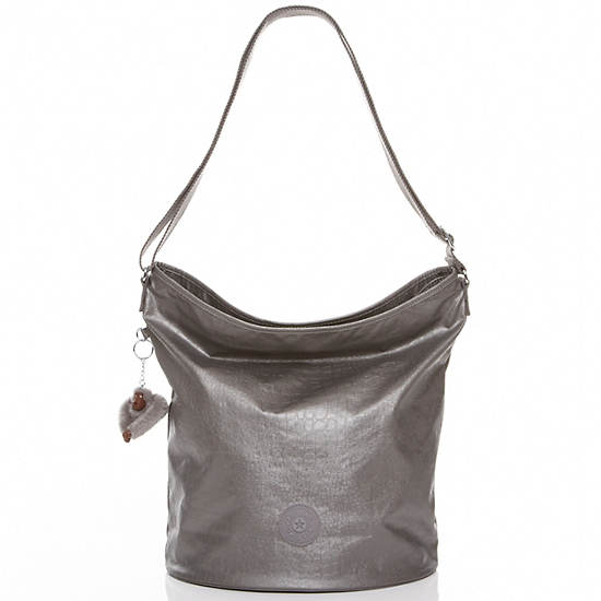 Mimmie Tote,Smoke Metallic,large
