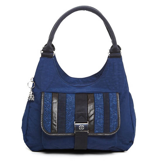 Bagsational Handbag,Silky Blue Combo,large
