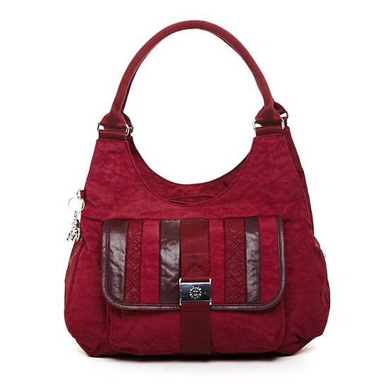 Bagsational Handbag,Portred Patch,large
