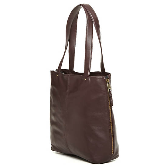 Hermine Leather Tote,Serenity Adventure Combo,large