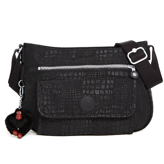 Syro Handbag,Black Pink Sherbert Combo,large