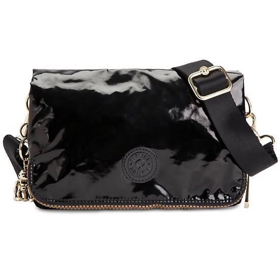 Crawly Handbag,Black Gold Mix,large