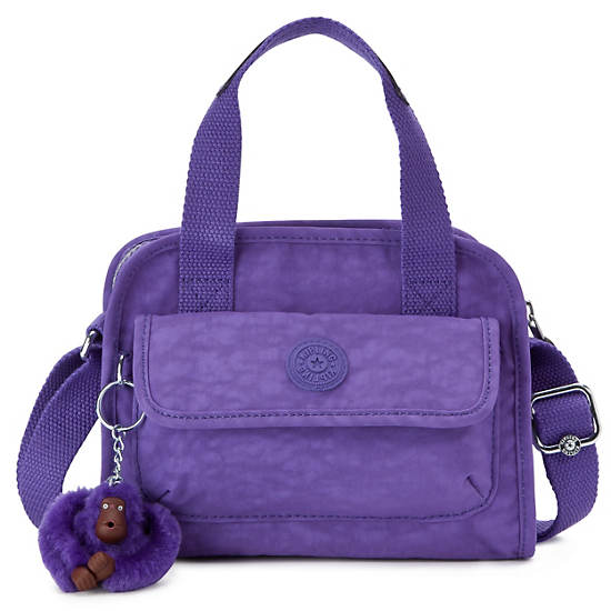 STAR SMALL HANDBAG ,Vivid Purple,large