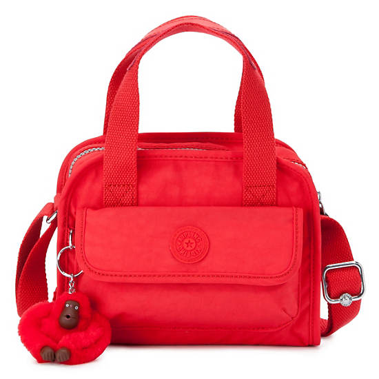 STAR SMALL HANDBAG ,Cardinal Red,large