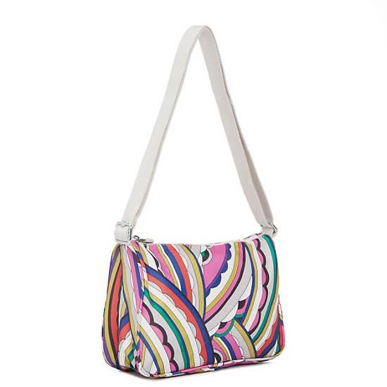 Callie Printed Handbag,Brightside,large