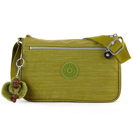 Callie Handbag,Dazzling Mossy Green,large