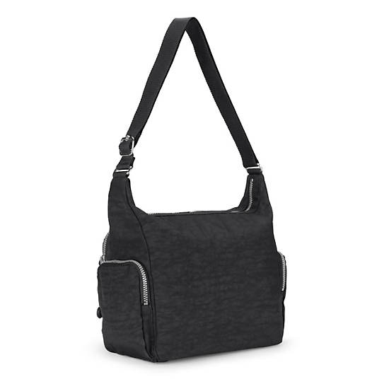 Gabbie Handbag,Black,large