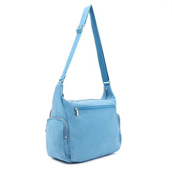 Gabbie Handbag,Blue Grey,large