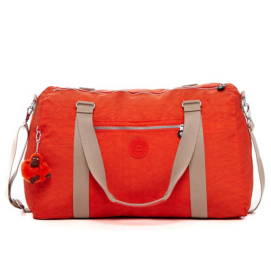 Itska Solid Duffle Bag,Blossom,large