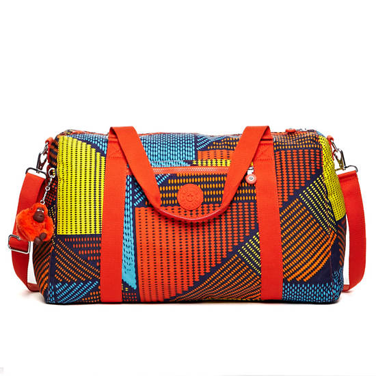 Itska Print Duffle Bag,Ethnic Prt,large