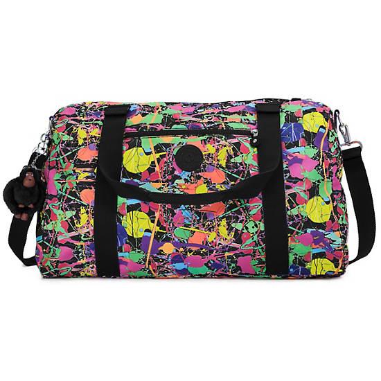 Itska Print Duffle Bag,Art Party,large