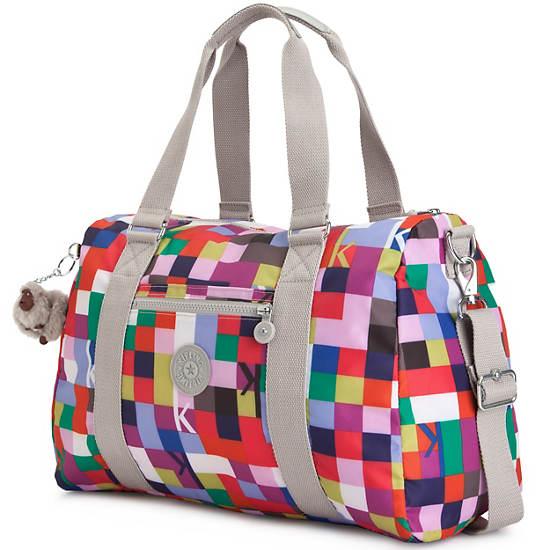 Itska Print Duffle Bag,K Squared Pink,large
