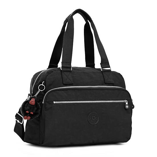 New Weekend Travel Bag,Black,large