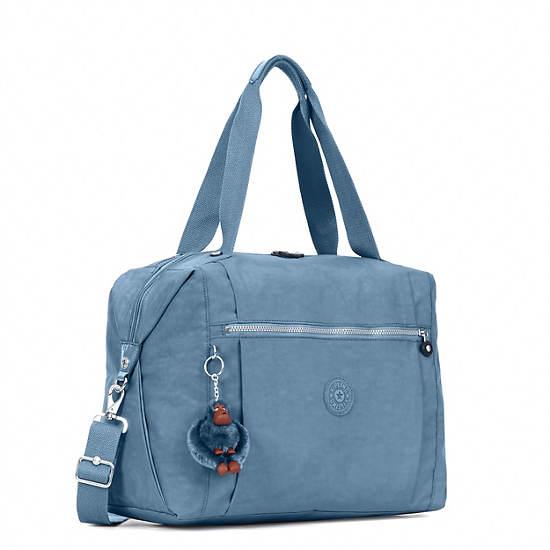 Ferra Weekender Duffel Bag,Blue Bird,large