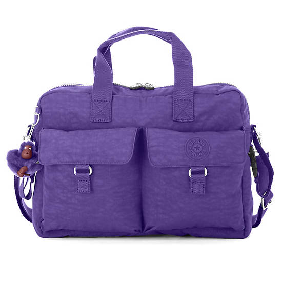 New Diaper Bag,Inlet Purple,large