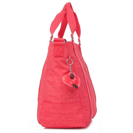 Adara Medium Tote,Red,large