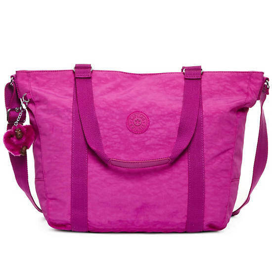 Adara Medium Tote,Pink Orchid,large