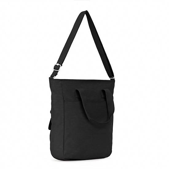 Johanna Tote Bag,Black,large
