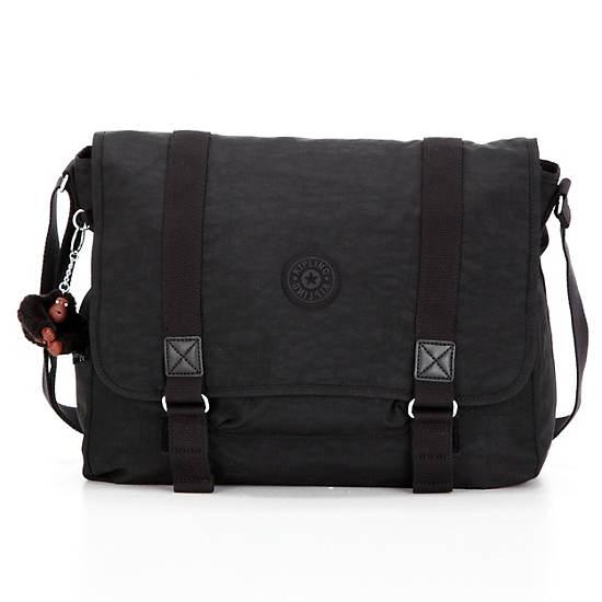 Aleron Messenger Bag,Black,large