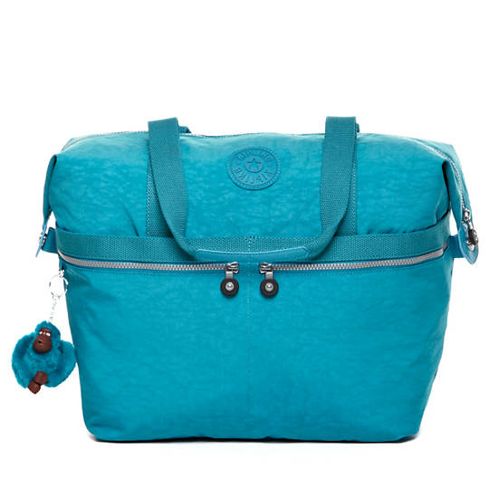 Matty Tote,Turq Blue,large