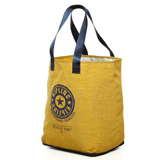 Hip Hurray Foldable Tote Bag,Black,large