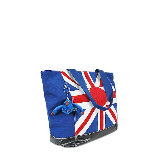Shopper Combo Union Jack Tote,Multi,large