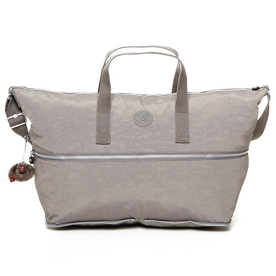 Jonah Foldable Tote Bag,Celo Grey,large