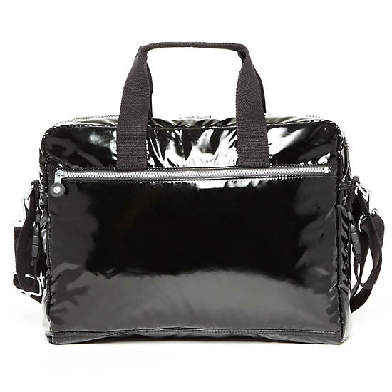 New Large Baby Bag With Changing Mat,Black Patent,large