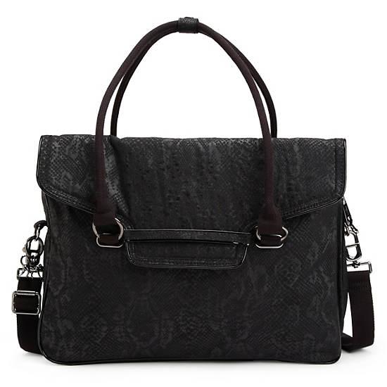 Super City Bag,Black Snake,large