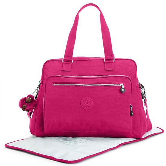Alanna Diaper Bag,Very Berry,large