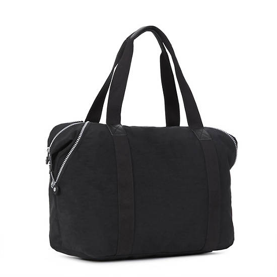 Art M Tote Bag,Black,large