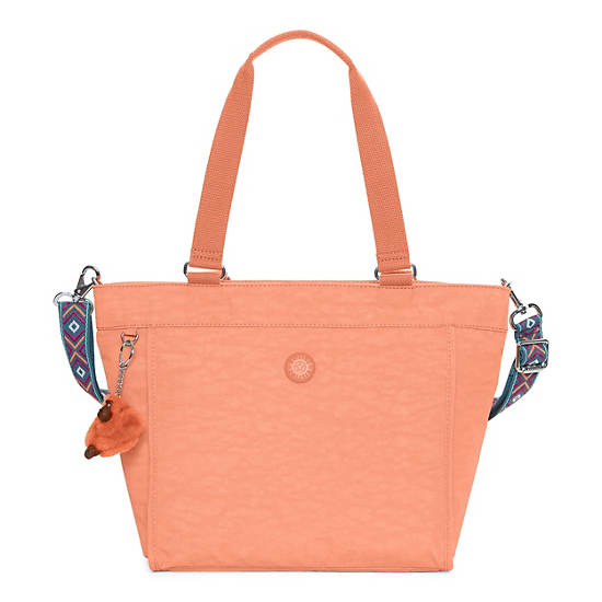 New Shopper Small Tote Bag - Peachy Pink | Kipling