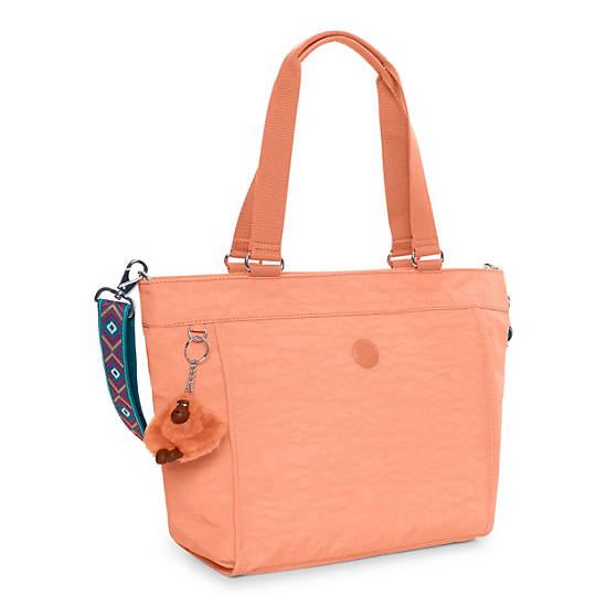 New Shopper Small Tote Bag - Peachy Pink | Kipling