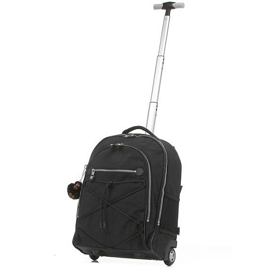 Sausalito Rolling Backpack,Black,large