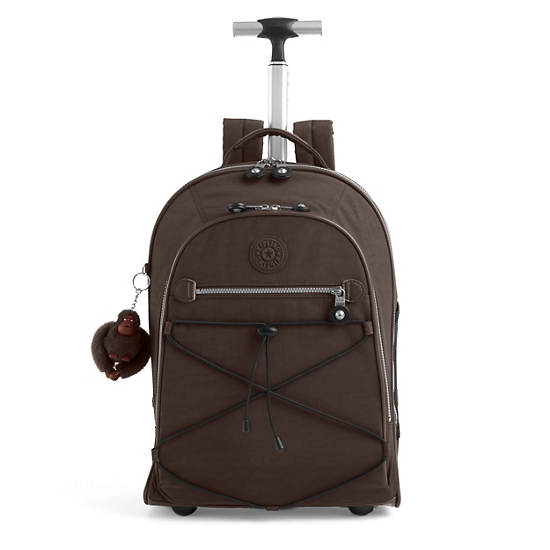 Sausalito Rolling Backpack,Espresso,large