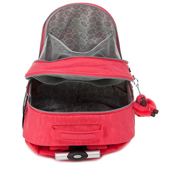 Sausalito Rolling Backpack,Red,large