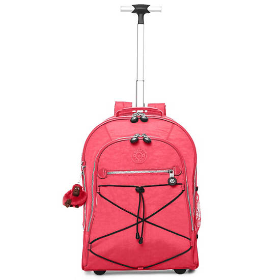 Sausalito Rolling Backpack,Vibrant Pink,large