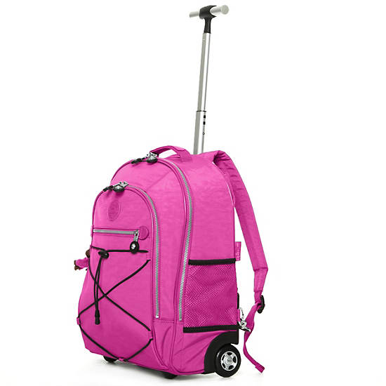 Sausalito Rolling Backpack,Breezy Pink,large