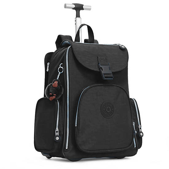 Alcatraz II Rolling Laptop Backpack,Black,large