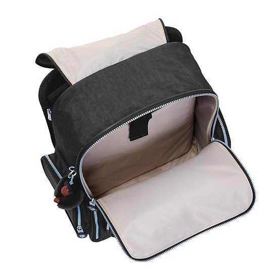 Alcatraz II Rolling Laptop Backpack,Black,large