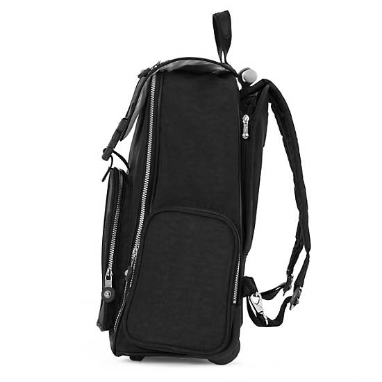 Alcatraz II Wheeled Laptop Backpack,Black,large