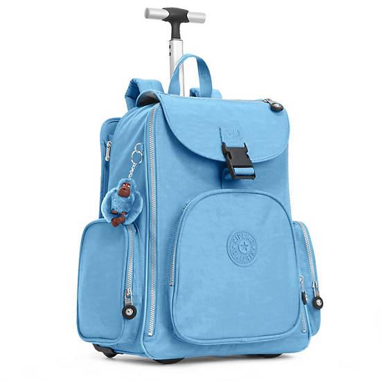 Alcatraz II Wheeled Laptop Backpack,Blue Grey,large