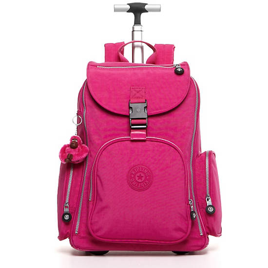 Alcatraz II Wheeled Laptop Backpack,Very Berry,large