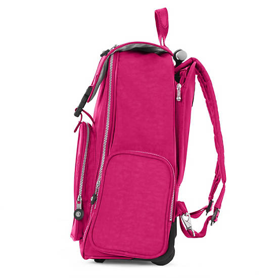 Alcatraz II Rolling Laptop Backpack,Very Berry,large